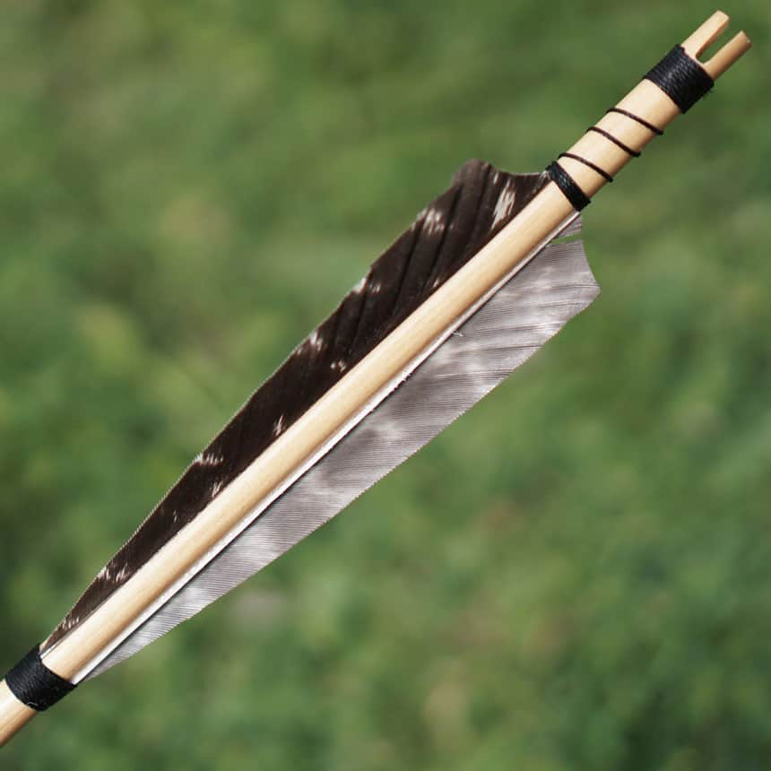 Feather Arrow Fletching