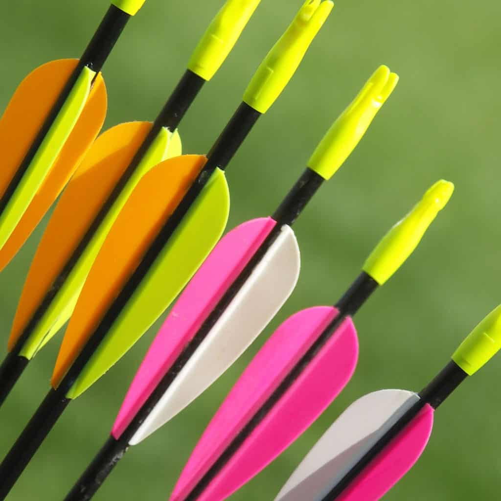 Plastic Arrow Fletching