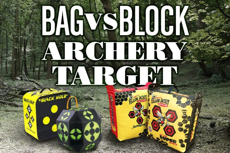 Bag VS Block Archery Target