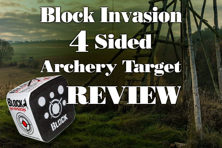 Block Invasion 4-Sided Archery Target Review