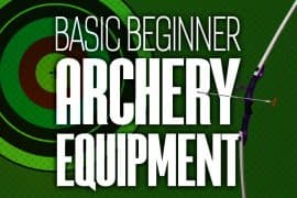 banner Basic Archery Equipment 750x500px