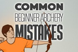 Common Archery Mistakes 750x500px
