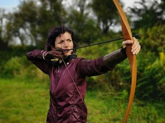 @BossTarget How heavy Traditional Long Bow